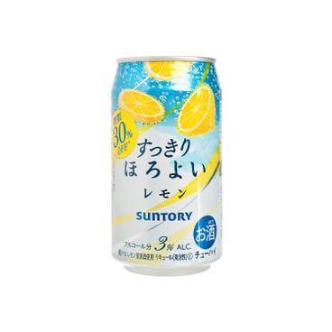 三得利 - 梳打酒-檸檬 - 350ML