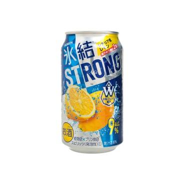 麒麟 - 冰結STRONG-檸檬 - 350ML