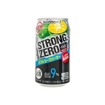 三得利 - 碳酸酒-STRONG ZERO-雙重柑橘 - 350ML