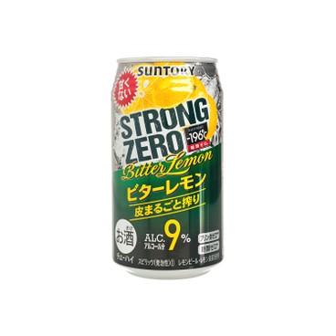三得利 - 碳酸酒-STRONG ZERO-苦味檸檬 - 350ML