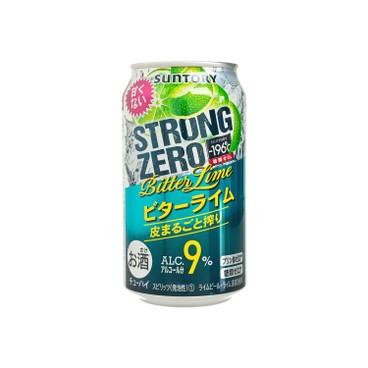 SUNTORY - Strong Zero bitter Lime - 350ML