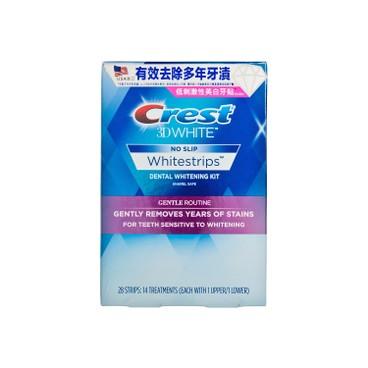 CREST - 3D WHITE溫和美白牙貼(敏感牙齒適用) - 28'S