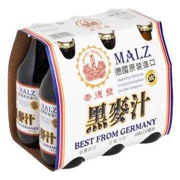 崇德發 - 天然黑麥汁 - 330MLX6