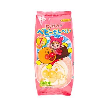 栗山 - 麵包超人米餅 (嬰兒) - 14'S