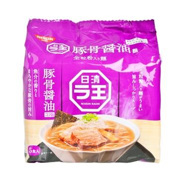 日清 - 拉王拉麵 - 魚介豚骨醬油味麵 - 98GX5