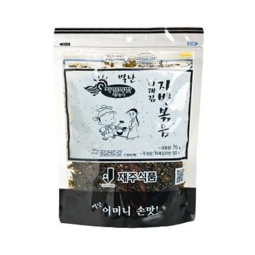 JAEJU - 海苔碎-天然橄欖油芝麻 - 70G