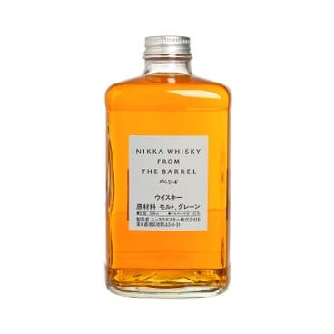 NIKKA WHISKY - 威士忌-WHISKY FROM THE BARREL - 500ML