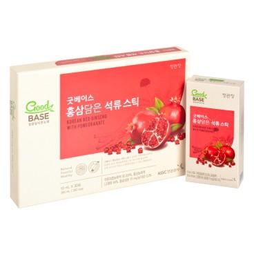 CHEONG KWAN JANG - Red Ginseng Pomegranate Gift Set - 10MLX30'S