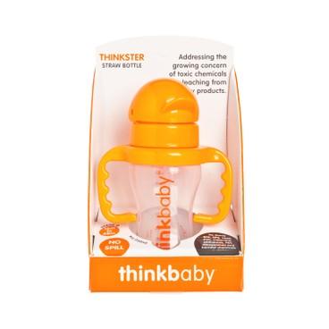 THINKBABY - The Thinkster Straw Bottle oragne - 255G