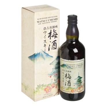KURAYOSHI - Umeshu With Whisky - 700ML