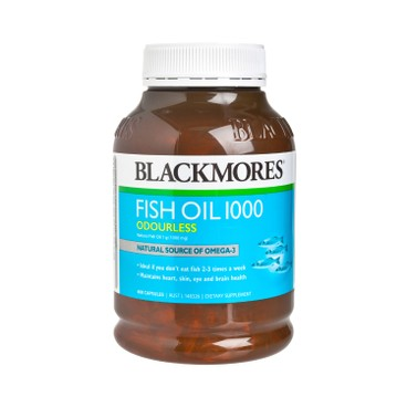 BLACKMORES - Odourless Fish Oil 1000 mg - 400'S