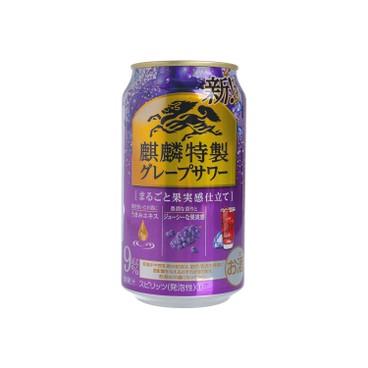 麒麟 - STRONG-葡萄果汁酒 (無糖) - 350ML