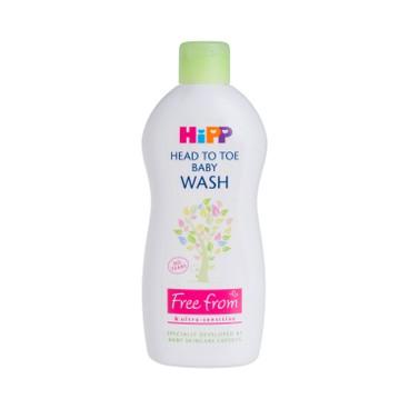 HIPP(PARALLEL IMPORT) - HEAD TO TOE BABY WASH - 400ML