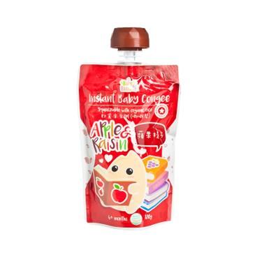 寶寶百味 - 即食有機米米粥(唧唧裝) - 蘋果提子 - 120G