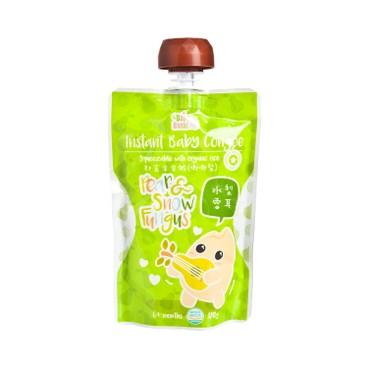 寶寶百味 - 即食有機米米粥(唧唧裝) - 水梨雪耳 - 120G
