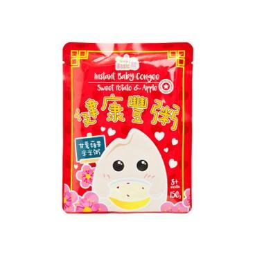 寶寶百味 - 即食有機米米粥 - 甘薯蘋果(期間限定) - 150G