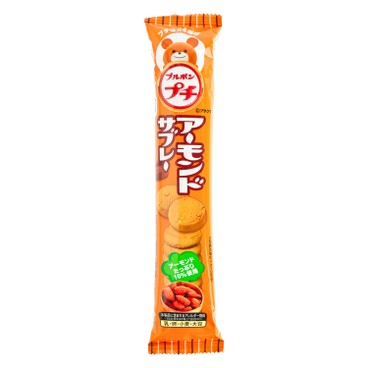 BOURBON 百邦 - 迷你杏仁餅 - 49G