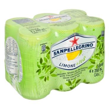 聖沛黎洛 - 有機有氣茶-檸檬 - 250MLX6