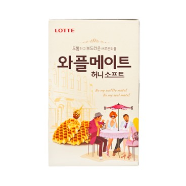 LOTTE - WAFFLE BISCUIT-HONEY - 144G