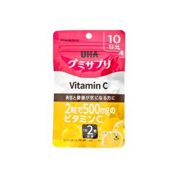 UHA - 營養補充軟糖-維他命C - 20'S