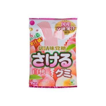UHA - 味覺糖-撕撕系列-白桃 - 7'S