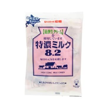 UHA - 8.2牛奶糖-特濃牛奶 (袋裝) - 120G