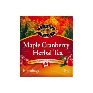 LB MAPLE TREAT - Cranberry Maple Herbal Tea - 18G