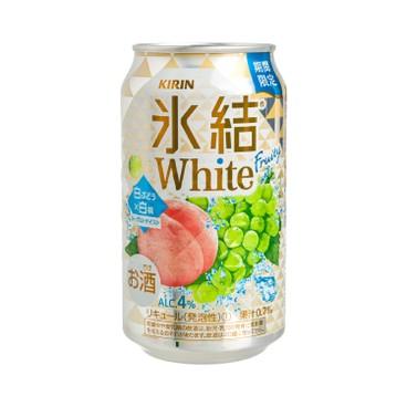 麒麟 - 冰結果汁汽酒-白葡萄及桃味 - 350ML