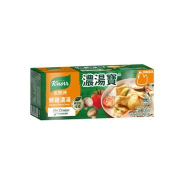 家樂牌 - 濃湯寶-鮮雞濃湯 (不加味精) - 32GX4