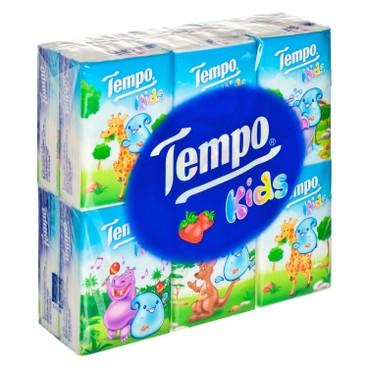 TEMPO - Petit Kids Handkerchiefs strawberry - 12'S