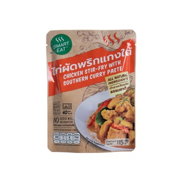 SMART EAT - Chicken Stir fry With Southern Curry Paste - 115G