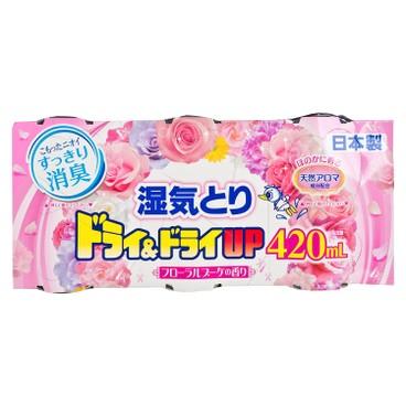 白元 - 花香吸濕器-花束芳香 - 420MLX3