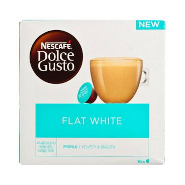 NESCAFE DOLCE GUSTO - COFFEE CAPSULE-FLAT WHITE - 16'S