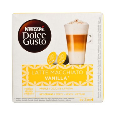 NESCAFE DOLCE GUSTO - 雲呢拿奶泡咖啡 - 8'S