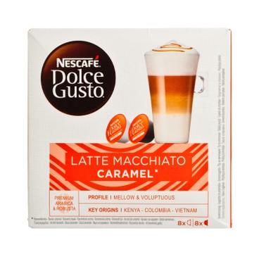 NESCAFE DOLCE GUSTO - Latte Macchiato Caramel - 8'S