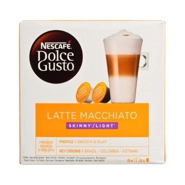 NESCAFE DOLCE GUSTO - Latte Macchiato Skinny - 8'S