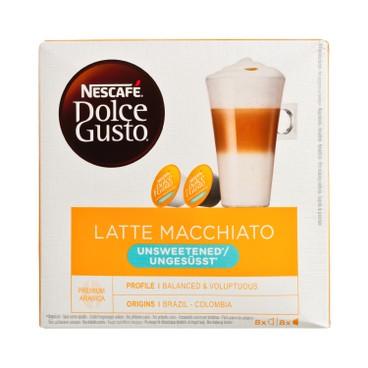 NESCAFE DOLCE GUSTO - Latte Macchiato Unsweetened - 8'S
