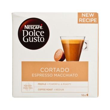 NESCAFE DOLCE GUSTO - Cortado Espresso Macchiato - 16'S