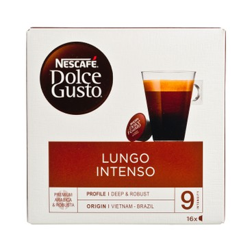 NESCAFE DOLCE GUSTO - Lungo Intenso - 16'S