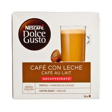 NESCAFE DOLCE GUSTO - Cafe Au Lait Decaffeinato - 16'S