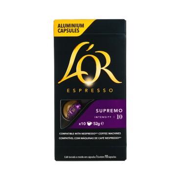 L'OR - SUPERMO 濃縮咖啡 - 5.2GX10