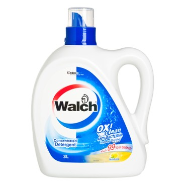 威露士 - 消毒洗衣液-檸檬味 - 3L