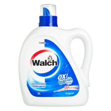 WALCH - Anti bacterial Laundry Detergent original - 3L