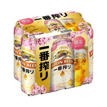 KIRIN - Ichiban sakura Version Limited - 500MLX6