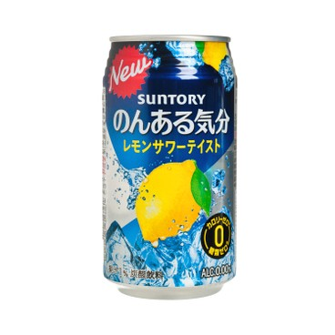 SUNTORY - Cocktail lemon alcohol free Calories free - 350ML