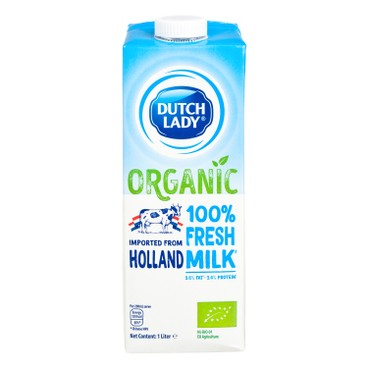 DUTCH LADY - Organic Pure Milk - 1L