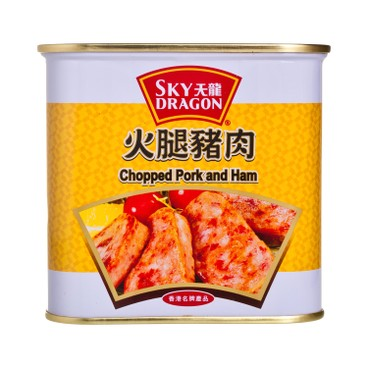 SKY DRAGON - Chopped Pork And Ham - 340G