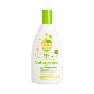 BABYGANICS(平行進口) - 洗髮及沐浴露 - 馬鞭草 - 473ML