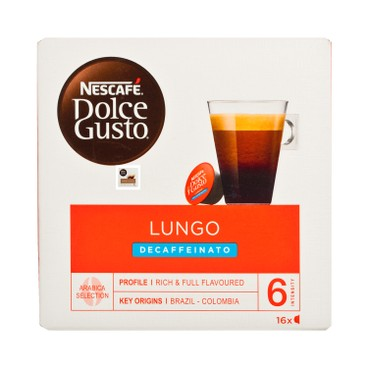 NESCAFE DOLCE GUSTO - Lungo decaf - 16'S