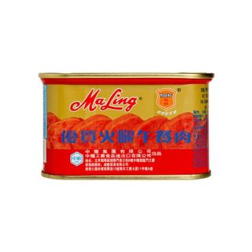 MALING - PREMIUM HAM LUNCHEON MEAT - 198G